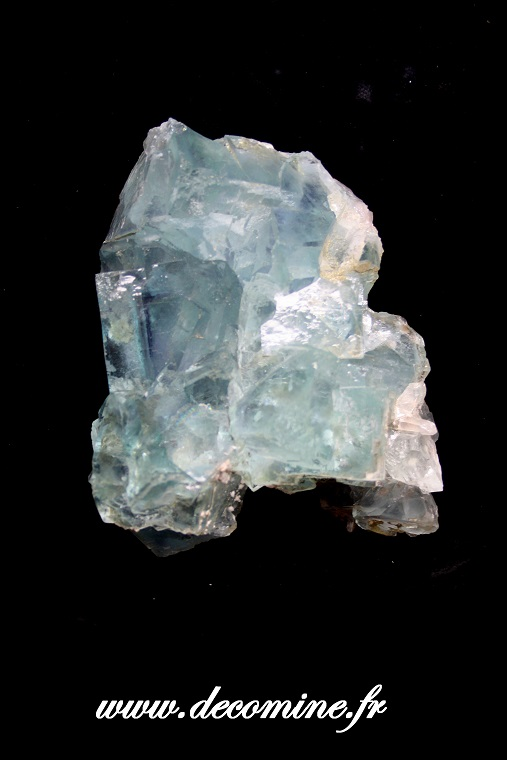 Fluorine bleue de collection de chine