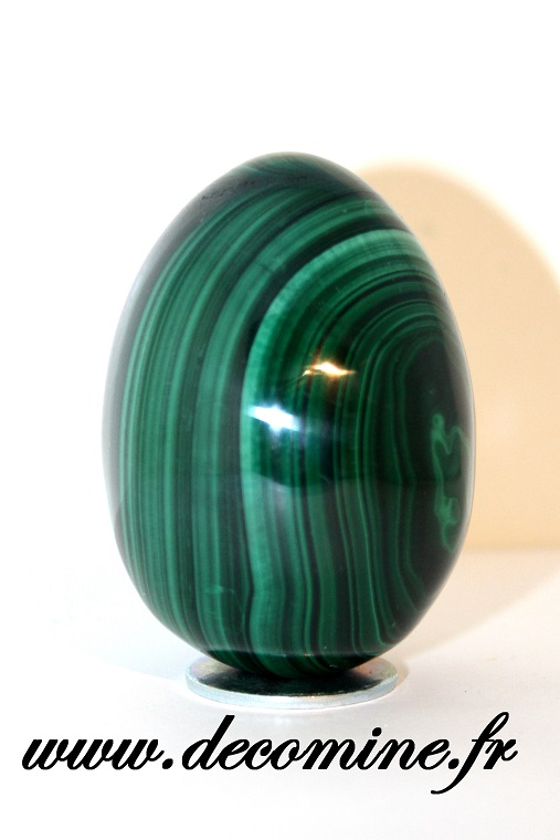 oeuf malachite verte decoration