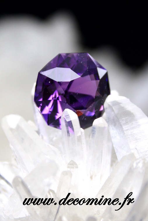 amethyste AA taille ALCYONE 6.71 carats