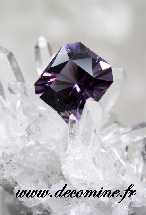 amethyste AA taille cardinale 6.56 carats