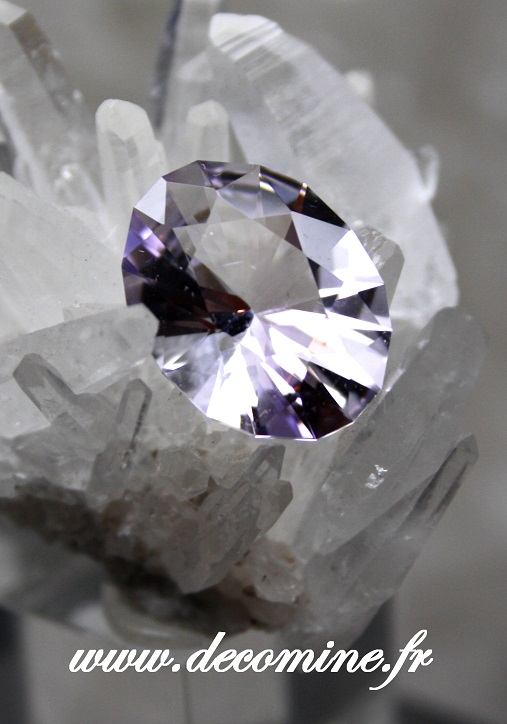 amethyste BOLIVIE taille ovale christmas 6.47 carats