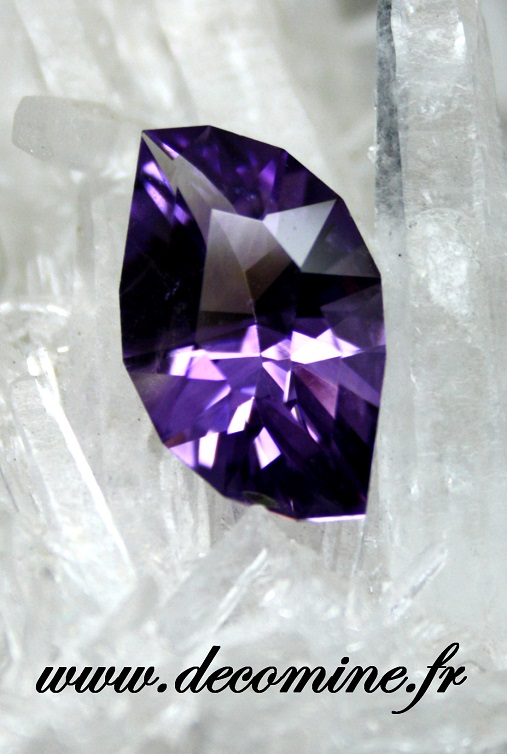 amethyste AA taille LEAF IN THE WIND 4.85 carats