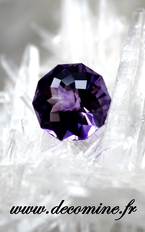 amethyste bresil taille fantastick 6.71 carats