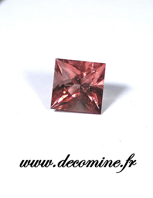 fluorine rose mont blanc carre 2.97 carats