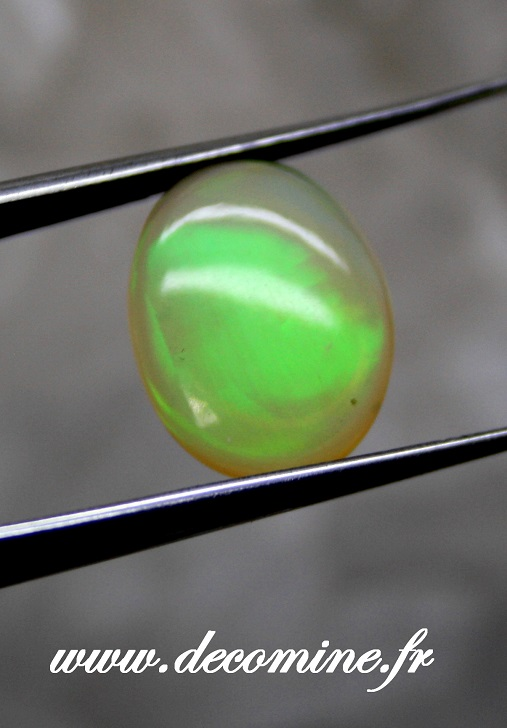 cabochon opale welo ethiopie ovale 2.55 carats