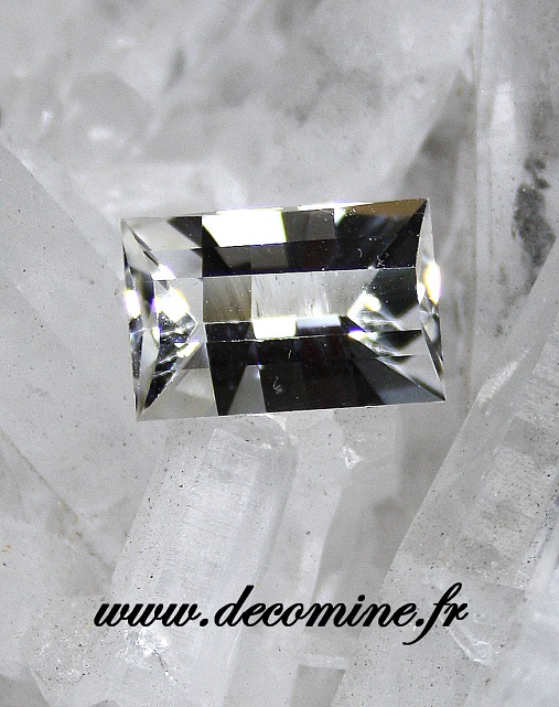quartz LA GARDETTE taille rectangle pixels 3.03 carats